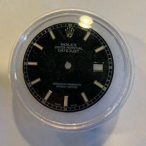 Rolex men's DATEJUST Black 36mm Dial